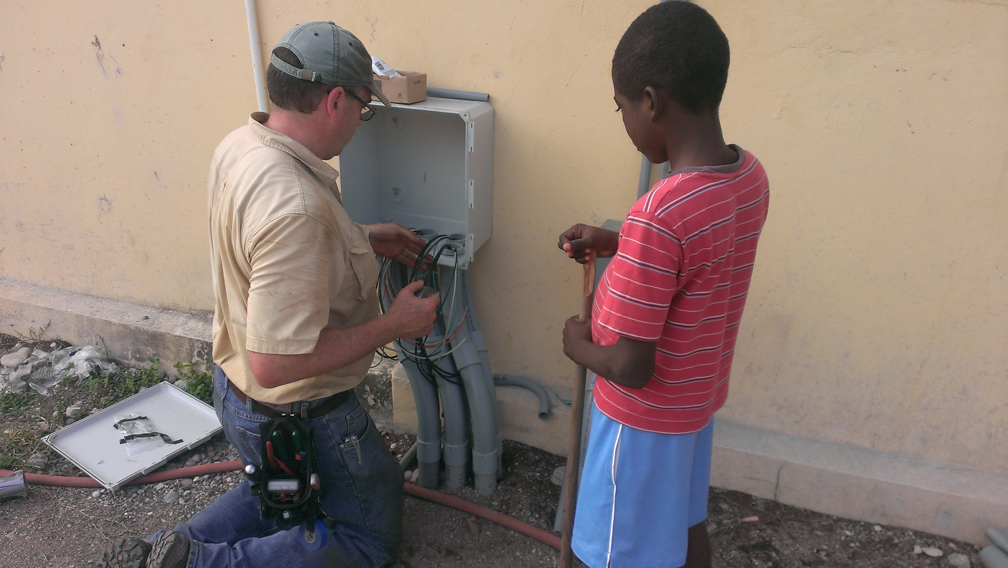 electrical wiring in haiti much more than electrical wiring - loving shepherd ministries electrical wiring in iraq