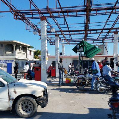 Haitian gas station