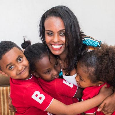 Hilina, Moriya, kids, Ethiopia